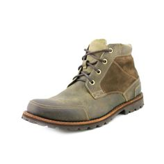 Henleys Men's Sakura Leather/Textile Vintage Fashion Casual Boots brown | Casual  boots and Henleys