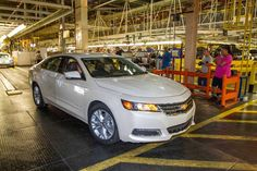 The all new 2014 Chevy Impala close to production.