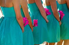 Maid of Honor Duties - just in case shaina has any questions ; Wedding Wishes, Friend Wedding, Wedding Bells, Quinceanera Court, Quinceanera Ideas, Wedding Colors, Wedding Styles, Aqua Wedding, Wedding Flowers