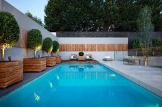 Бассейн в загородном доме – идеи дизайна, потрясающие воображение [часть 1] #FAQinDecor #design #decor #architecture #interior #art #дизайн #декор #архитектура #интерьер