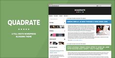 Quadrate WordPress Theme - ThemeForest Item for Sale