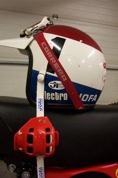 Vintage Motocross Electro Helmet