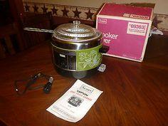Cool Works, It Works, Crock Pot Slow Cooker, Crockpot, Vintage Green, Retro Vintage, Cookers, Box, Snare Drum
