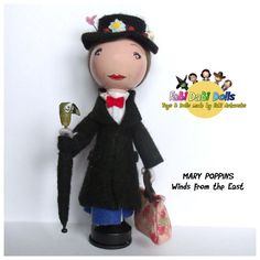 FaBi DaBi Dolls - Mary Poppins    The Perfect Doll to help bring everyones favourite nanny to life - this doll is practically perfect in every way!!