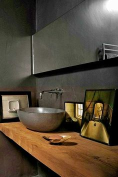 Bathroom themes info: Your ceiling needs to be bri. Bathroom themes info: Your ceiling needs to be bri. Best Bathroom Designs, Modern Bathroom Design, Simple Bathroom, Bathroom Black, French Bathroom, Rustic Bathroom Vanities, Bathroom Sets, Bathroom Interior, Dream Bathrooms