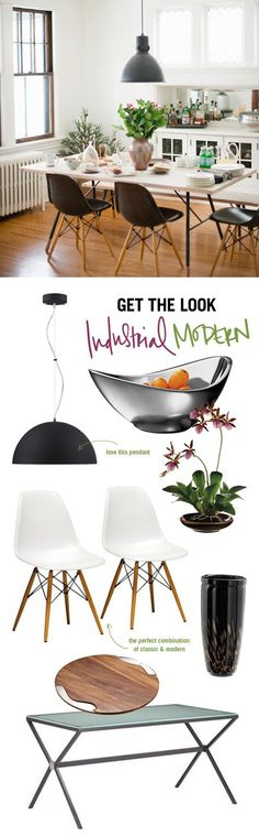 industrial modern how to. #modern #industrial #interior #design