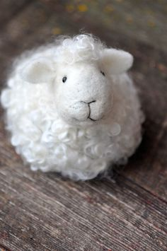Wooly sheep.  Repinned by www.mygrowingtraditions.com