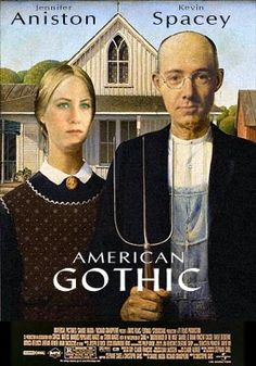 Catalogue of the Art Institute Chicago – 'Galleries of American Art' featuring one of the most iconic paintings of the 20th Century; American Gothic by Grant Wood. American Gothic is also one of the most parodied paintings ever along with Leonardo da Vinci's Mona Lisa.