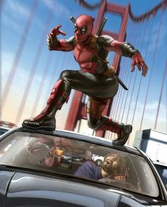 What do you guys want to see next for Deadpool in future movies? Lady Deadpool, Deadpool Fan Art, Deadpool And Spiderman, Deadpool Movie, Deadpool Stuff, Spiderman Art, Marvel Comics Superheroes, Marvel Heroes, Marvel Characters