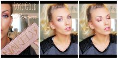 ❤  Urban Decay NAKED 3 Tutorial: Rose Gold Romance ❤