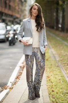 Mary Leest | Milan Fashion Week SS15 Street Style