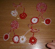 Martisoare crosetate Diy Crochet, Crochet Earrings, Jewelry, Jewlery, Jewerly, Schmuck, Jewels, Jewelery, Fine Jewelry