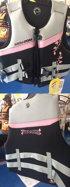 Life Jackets and Preservers 15262: Women'S Seadoo Neoprene Life Jacket -> BUY IT NOW ONLY: $40 on eBay!