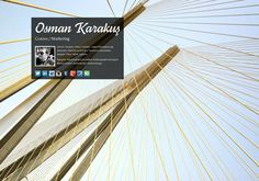 Osman Karakuş's page on about.me – http://about.me/osmankarakus