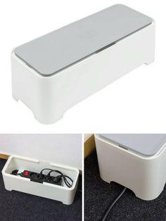 15 id es pour cacher et ranger vos c bles fils et prises lectriques electrique cacher et. Black Bedroom Furniture Sets. Home Design Ideas