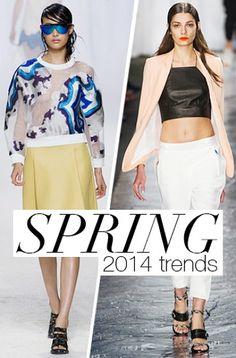 Spring 2014 Fashion Trends #NYFW #Spring2014