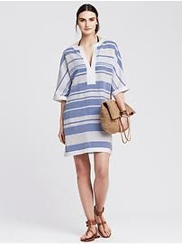 Blue Stripe Cover-Up