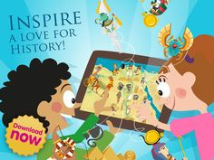 History Atlas for Kids (Rome, Greece and Egypt) by Planet Factory Interactive | apps.farm