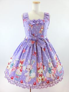 cute! #sweet_lolita ~~ For more:  - ✯ http://www.pinterest.com/PinFantasy/lifestyles-~-lolita-style-fashion-and-fantasy/