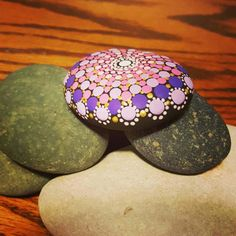 Check out this item in my Etsy shop https://www.etsy.com/listing/518434841/hand-painted-mandala-rockhandmade