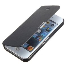 """Leren iPhone hoesjes vind je bij ons! - #leather iphone 5 flip case uk   Black Fashion Clamshell Ultra Thin Slim Wallet Magnetic Flip PU Leather Hard Case Cover Skin Pouch for iPhone 5 / 5S: <a href=""""http://Amazon.co.uk"""" rel=""""nofollow"""" target=""""_blank"""">Amazon.co.uk</a>: Electronics - http://www.lereniPhone5hoesjes.nl"""
