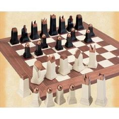 The Art Deco Chess Set