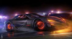 Photo sur votre bureau avec un impulsif passionné marque de voiture Lexus LFA GTE.