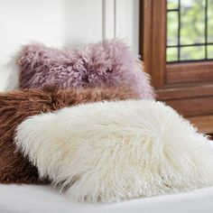Mongolian Fur Pillow Cover from PBteen. Saved to PB Teen. #matchymatch. Shop more products from PBteen on Wanelo.