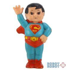 スーパージュニア スーパーマン DC ソフビフィギュア Super Junior SUPERMAN Squeak Vinyl Figure  #スーパーマン #SUPERMAN #アメトイ #アメリカントイ #おもちゃ #おもちゃ買取 #フィギュア買取 #アメトイ買取 #vintagetoys #ActionFigure #中野ブロードウェイ #ロボットロボット #ROBOTROBOT #中野 #WeBuyToys