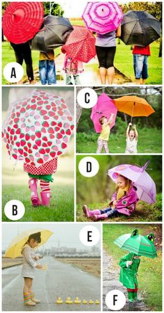Rainy Day photography inspiration
