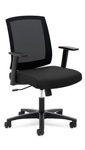 Basyx by HON Mesh Mid-Back Task Chair