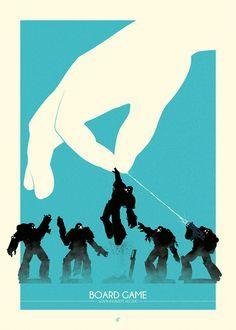 Patrick Connan – Geek Generation Art Show – Wargames Tryptic | Geek Art – Art, Design, Illustration & Pop Culture ! | Art, Design, Illustrat...