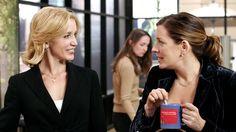 Nina Fletcher (Joely Fisher), Lynette Scavo (Felicity Huffman) ~ Desperate Housewives Stills ~ Season 2, Episode9 ~ That's Good, That's Bad