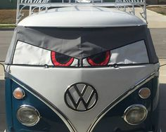 Buseyes Screen covers for all Volkswagen campers and Bugs. Order now.