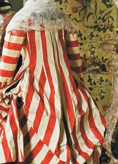 There's just something about the French and red and white stripes - Isabelle de Borchgrave