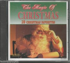 The Magic Of Christmas: 20 Christmas Favorites by Michelle Amato-Hann (CD/1994)