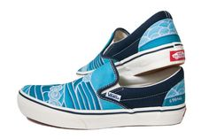 e5fbea7bc8 Heather Brown x Vans Classic Slip-On   Hawaiian surf artist Heather Brown  has collaborated with Vans Japan for this classic slip-on