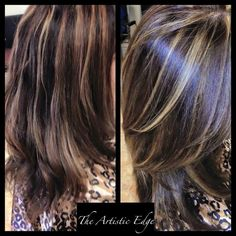 Check out this voluminious and textured brunette style! #TAE #ATX