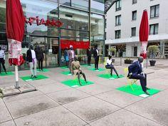 Modenschau ohne Show 5.9.20 Street View, Fashion Show, City, Nice Asses