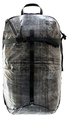 A1_18 BACKCOUNTRY SNOWBOARD BACKPACK | Function Back shot