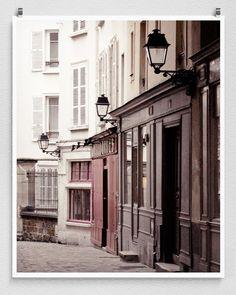 Paris photography  Passage   Paris facadeParis by tubiduPHOTO
