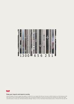 cool Westpac Bank: Bar code   Ads of the World™