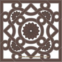 scroll saw stencils | Download Byzantine ornament for free in vector art format. Byzantine ...