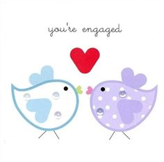 Picture of Engagement Card - You're Engaged