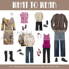 What to wear family #photography