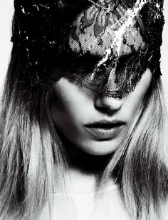 Dark Lace Photoshoots - The Tosca Dekker for Harper's Bazaar Hong Kong Editorial is Gorgeous (GALLERY)