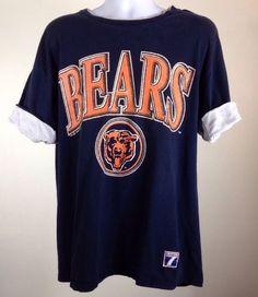 Vintage Logo 7 Chicago Bears T Shirt Made in USA   eBay