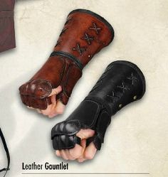 I only know what gauntlets are because of comic  books... heh...