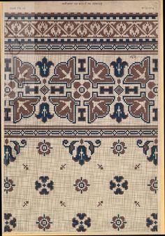 Cross Stitch Sampler Patterns, Cross Stitch Borders, Cross Stitch Samplers, Cross Stitch Designs, Cross Stitching, Ribbon Embroidery, Cross Stitch Embroidery, Embroidery Patterns, Patterned Carpet
