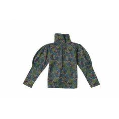 """LIRAZE T-shirt manches longues """"Fleuri menthe"""" bébé coton bio - Ideo - Milk&Green"""